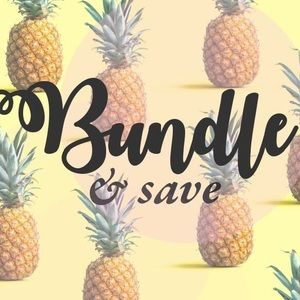 Bundle 3 items or more and get 20% off!